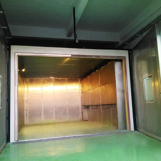 Drive-In Climatic Chamber for Vehicle testing